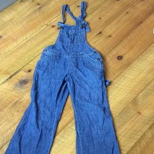 Old Navy denim jean overalls Medium